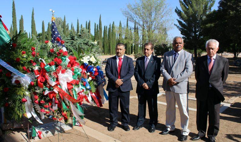 Homenaje a héroe que participó en Batalla de Puebla, en Arizona