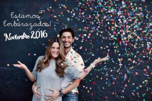 La pareja compartió en redes sociales, la felicidad que los invade. Fotos cortesía- @TalentoLatinotv