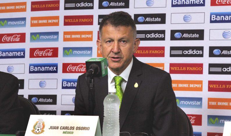 Técnico Osorio apuesta a continuidad y quiere compromiso en Tri