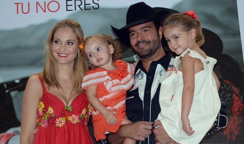 Pablo Montero, apoyado incondicionalmente por su esposa