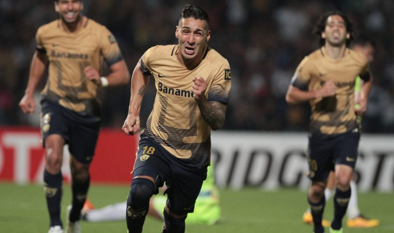 Pumas vence 2-0 a Táchira y está en cuartos de final en Libertadores