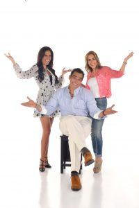 Omar estará acompañado de Joanna Vega-Biestro y Marta Guzmán