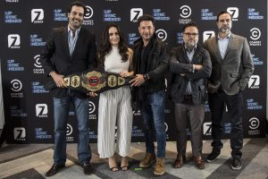 """Ana de la Reguera encabeza la lista de famosos que competirán en """"Lip Sync México"""". Foto Cortesía de TV Azteca.JPG"""