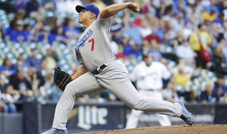 Mexicano Urías logra su primer éxito en GL en triunfo de Dodgers