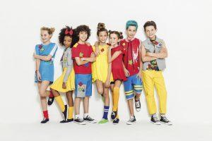 El grupo está conformado por Ivanna, Jelly, Paula, Sophie, Emiliano, Nathan y Yael, chicos entre 10 y 13 años. Foto Sony Music