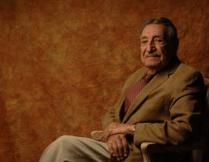 Former Gov. Raul Castro is shown in this portrait provided by his family.
