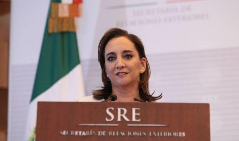 Canciller Ruiz Massieu condena violencia en Niza, Francia