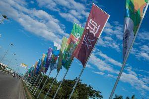 60705046. Río de Janeiro, 5 Jul 2016 (Notimex- Alcaldía de Río de Janeiro).-A 30 días para la apertura de los Juegos Olímpicos de Río de Janeiro, el 5 de agosto, los estadios están terminados al 99 por ciento, mientras los atletas ultiman su entrenamiento y la ciudad comienza a mostrar decoraciones olímpicas. NOTIMEX/FOTO/ ALCALDÍA DE RÍO DE JANEIRO/COR/SPO/RIO16