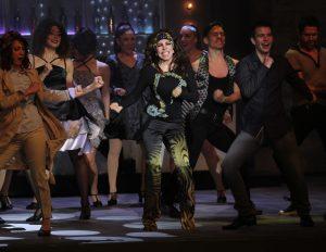 """Castro protagoniza, desde hace unas semanas, el musical """"Aplauso"""" que marcó su regreso a los escenarios teatrales."""
