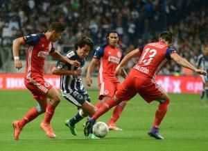 El equipo de Guadalajara retomó este martes los trabajos, con la mira puesta en el partido de la fecha dos ante Monterrey. Foto: Notimex