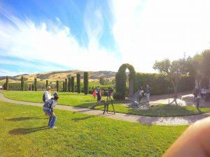Parte importante de la historia se graba en los viñedos de Napa y Sonoma en San Francisco, California. Foto: Cortesía de Televisa
