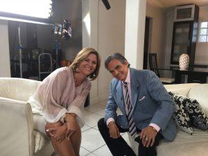 El Príncipe de la Canción tuvo una estremecedora plática con María Elena Useche. Foto Cortesía Telemundo Ineternacional