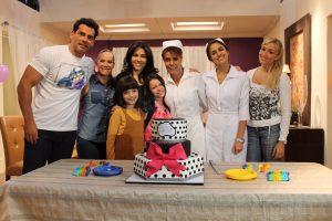 """Cálido festejo de cumpleaños para la villana de """"Sueño de Amor"""". Foto Cortesía de Televisa."""