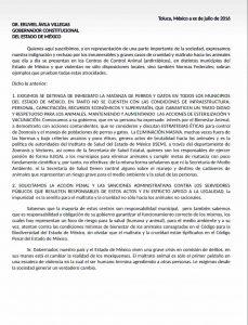 Manifiesto firmado por Eugenio Derbez en contra del maltrato animal