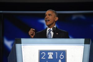 60727268. Filadelfia, 27 jul 2016 (Notimex-José López).- El presidente Barack Obama llamó a los estadounidenses a votar por Hillary Clinton como la persona más calificada para ser presidenta de Estados Unidos, en la tercera sesión de la Convención Nacional Demócrata. NOTIMEX/FOTO/JOSÉ LOPEZ/COR/POL/
