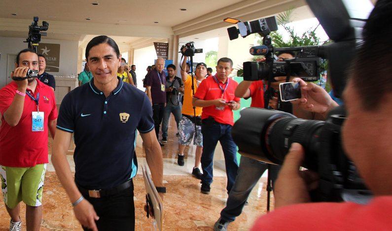 Técnico de Pumas espera dos refuerzos y valora fichaje de españoles