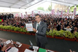 Enrique Ochoa Reza, presidente electo sustituto del Comité Ejecutivo Nacional (CEN)