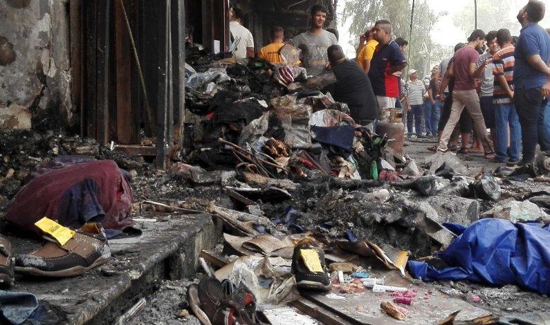 Número de muertos por atentado en Bagdad asciende a 250