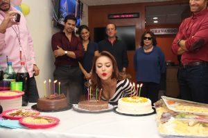 Tres pasteles, tres deseos. Foto: Cortesía de Televisa