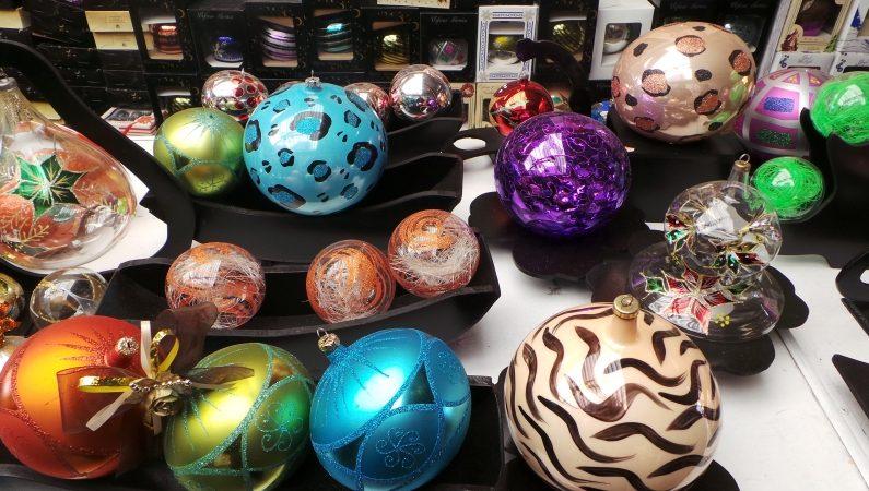 Esferas navideñas de vidrio soplado